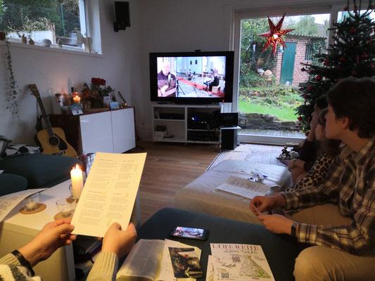 Weihnachten zu Hause in Kupferdreh