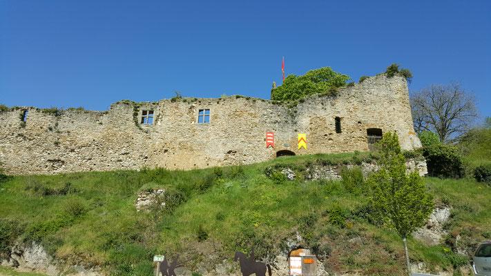 Ruines du chateau à Thalmon Saint Hilaire