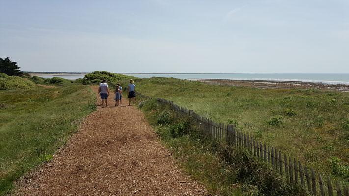 Le chemin du littoral