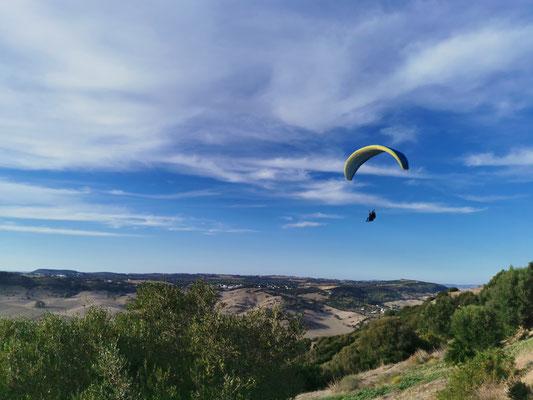 Paragliding in Vejer