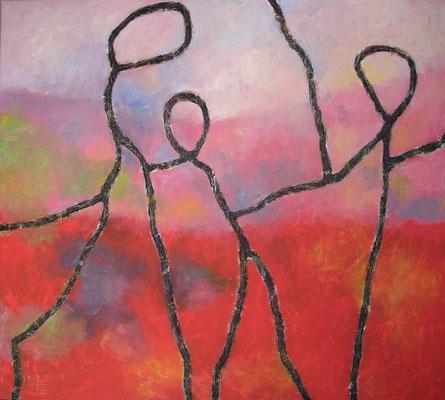 die familie 2001, 130x145 cm