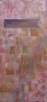 4 elemente eisen 2003, 49x23 cm