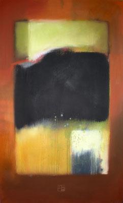 dunkler garten 2012, 110x67 cm