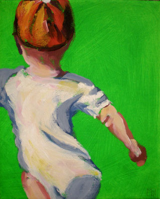 fragile walking IV, 2014, oil on acryl on canvas
