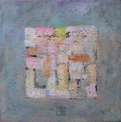 flußkiesel 2008, 30x30 cm