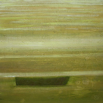fischerboot 2006, 40x40 cm