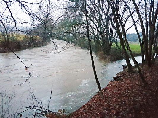 Noch niedrig-Hochwasser 3.  Fen. 2020 7:16 h