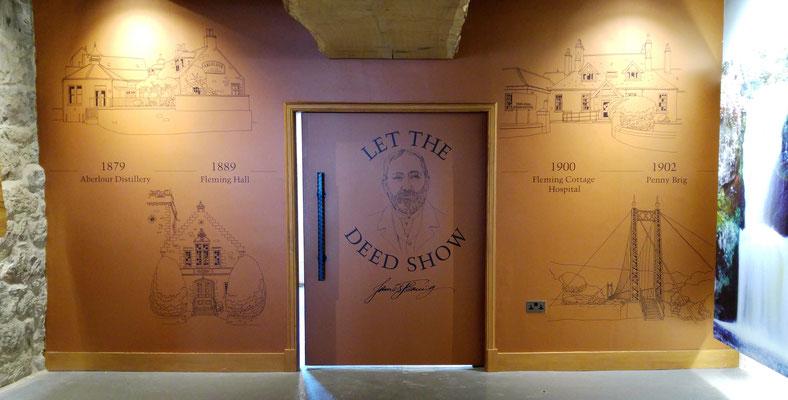"""""""Let the deed show"""", der Leitsatz des Gründers"""