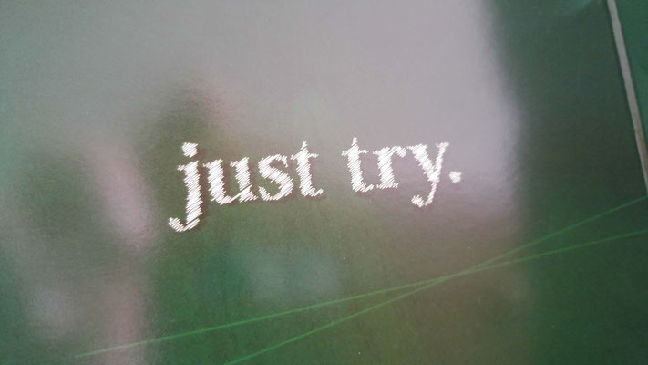 Just try. I will!