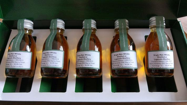 Mehr Sampleflaschen