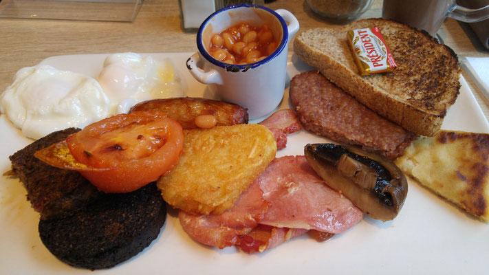 Ein klassisches Frühstück.