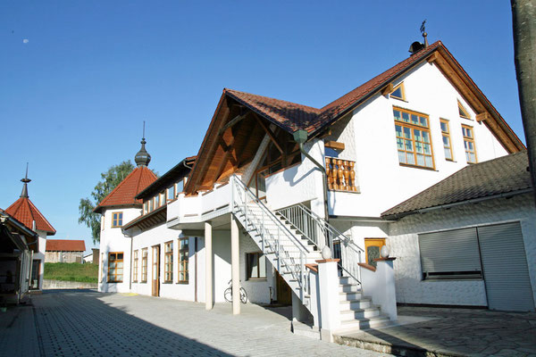 Unser Holz-Loft bei Kelheim bietet Entspannung pur