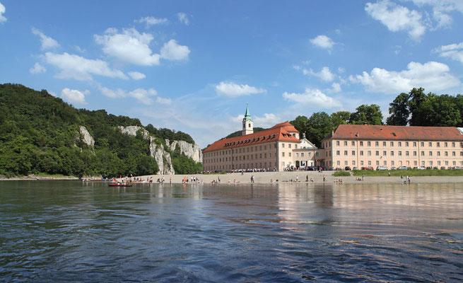 Ausflugtipp: Kloster Weltenburg bei Kelheim, Foto: Tourismusverband Ostbayern e.V./Fotograf: Stolz