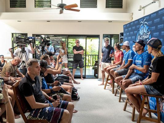Pressekonferenz des Erdinger Alkoholfrei Teams