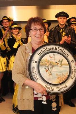Schützenkönigin: Sofie Bernt, 7,2 Teiler