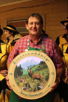 1 Platz Pistole: Pistolenkönig Norbert Baur