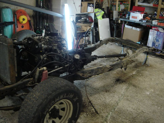 Restauration Phase 3 Jeep Cj7