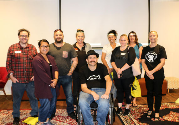 2 Wise Monkey Workshop group in Bunbury 2019