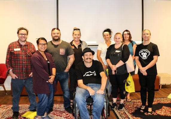 2 Wise Monkey Workshop group in Bunbury 2019