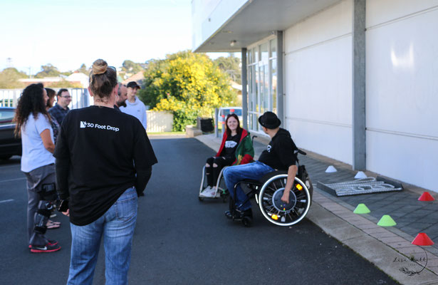 Experiencing using a wheelchair with JSW 2019
