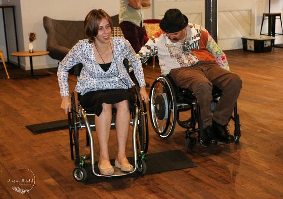 Experiencing using a wheelchair in Bunbury 2019
