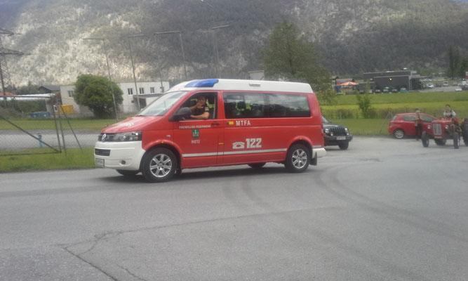 Danke an die Feuerwehr Rietz für die Große Hilfe!