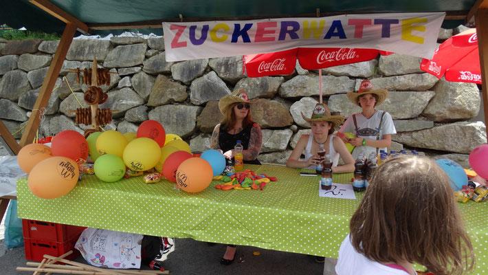 Gratis Zuckerwatte für alle Kinder