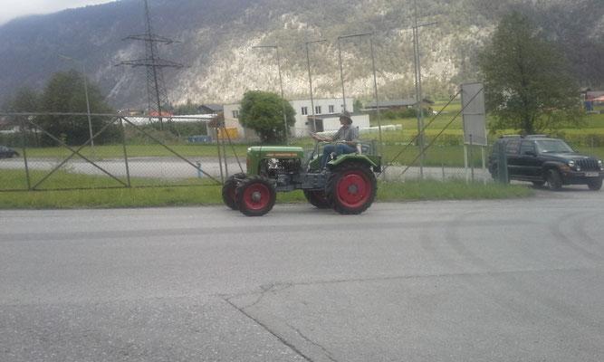 Traktorteilnehmer