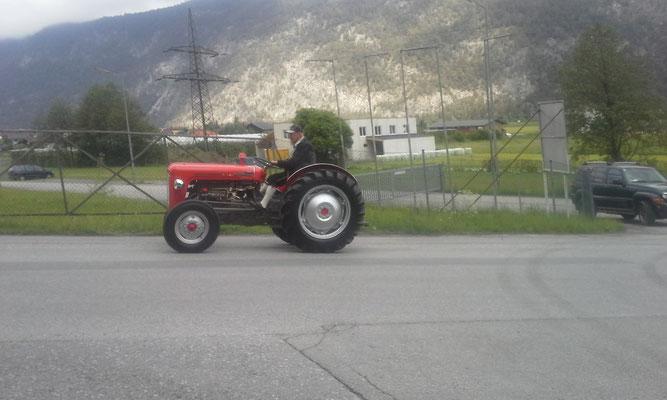 Traktor aus Pfunds