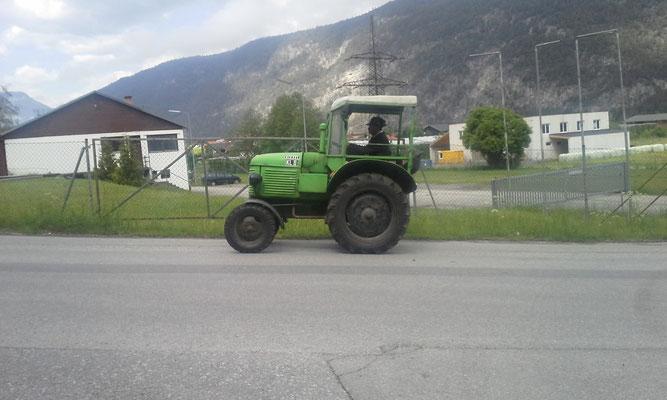 Traktorrundfahrt
