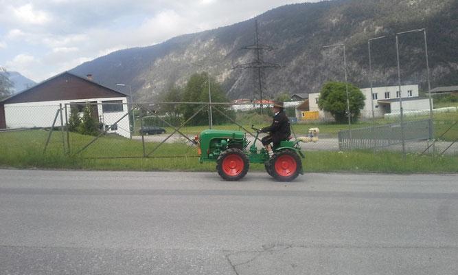 Teilnehmer Traktorrundfahrt