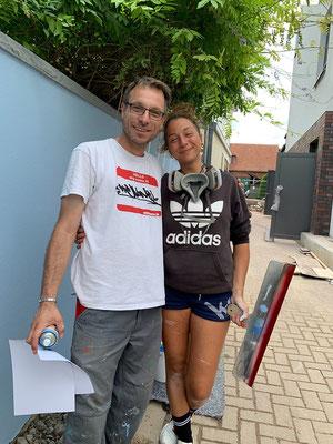 @ koarts.de  Mitwirken bei Kevs Auftrag Sparkassenparkplatz