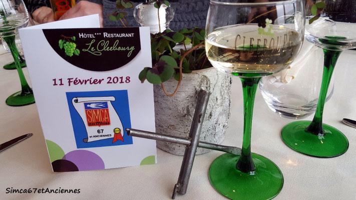 Voici la Clee du bourg et son fameux vin blanc!