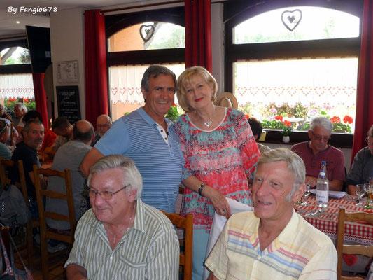Brigitte, Fernand, Francis et Charles