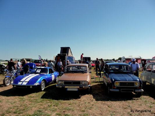 En famille, Opel GT, R12 et R4