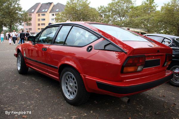 L'Alfa GTV de Hubert