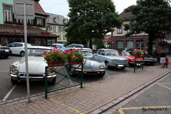 Même les parkings sont pleins!