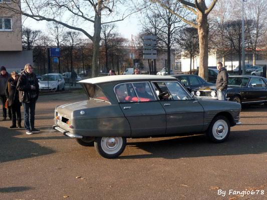 la même Citroën Ami6