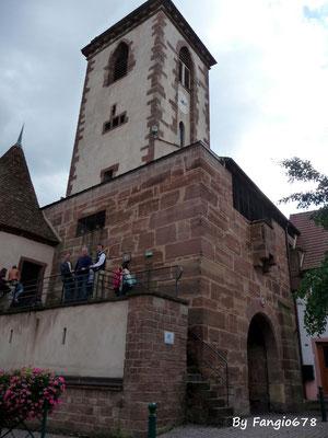 Visite de la tour carrée à Wasselonne