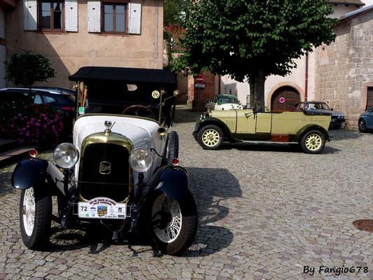 Deux Delahaye type 81