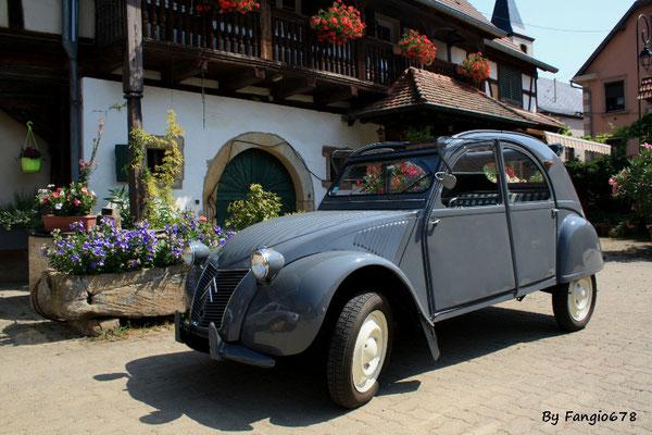 Citroën 2CV AZ 1956
