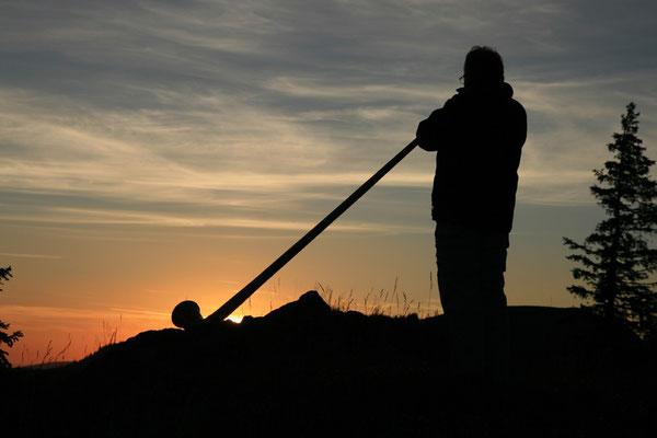 Sonnenaufgang am Spießhorn