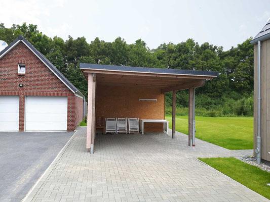 Carport En Garage : Carport garage baugeschäft zimmerei tammen in tönning
