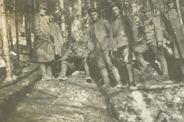 Gemeinsam mit Ungarischen Kameraden
