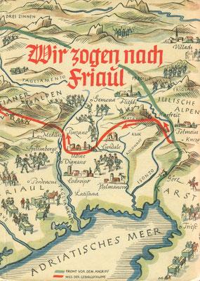 """Bilder aus dem Roman """"Wir zogen nach Friaul"""" von Helmut Schittenhelm."""