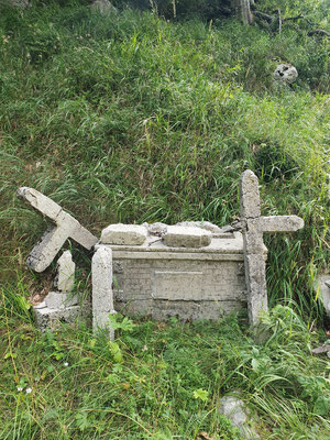 Der Altar im Jahr 2020.