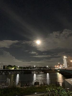 Pulmo/2020.09.02/東京都江戸川区一之江、橋の上から