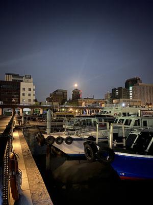 渡辺 篤/2020.08.04 未明/横浜市中区、象の鼻桟橋