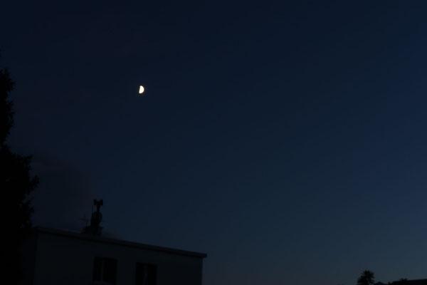 marmotte/2020.08.25 20:58/フランス、グルノーブル、自宅の窓から