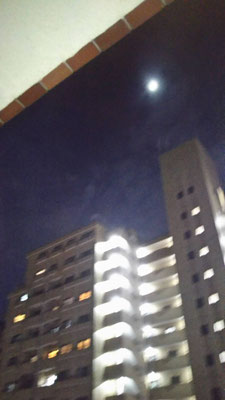 りえ&ゆうき/2020.05.30 19:51/東京都、自宅マンション窓から